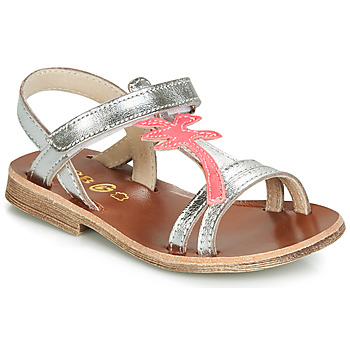 Shoes Girl Sandals GBB SAPELA Silver