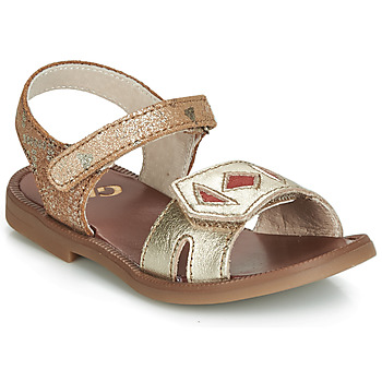 Shoes Girl Sandals GBB CAVOLA Orange