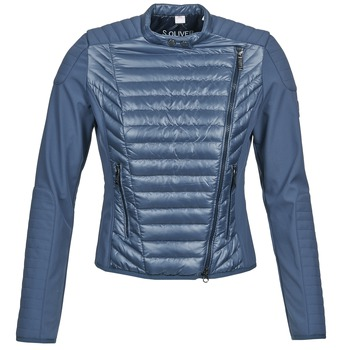 material Women Jackets / Blazers S.Oliver JONES Blue