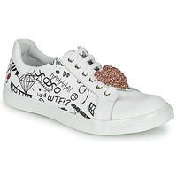 Shoes Girl Low top trainers GBB MUTA White