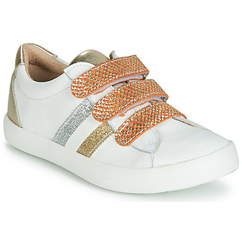 Shoes Girl Low top trainers GBB MADO White / Gold