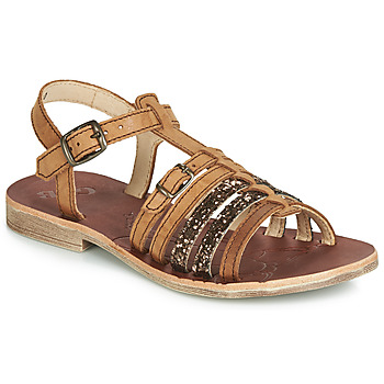 Shoes Girl Sandals GBB BANGKOK Cognac
