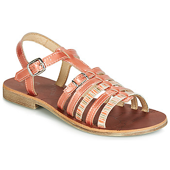 Shoes Girl Sandals GBB BANGKOK Coral