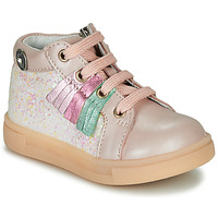 Shoes Girl High top trainers Catimini BRITA Pink