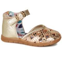 Shoes Girl Ballerinas Catimini NAYA Gold