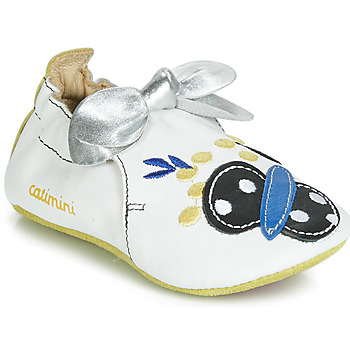 Shoes Girl Slippers Catimini CATIVA Blue / White