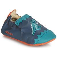 Shoes Boy Slippers Catimini CADANO Vte / Blue green / Dpf / Flexible
