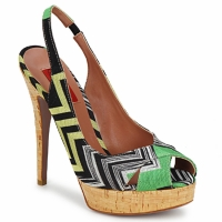 Shoes Women Sandals Missoni RM71 Green