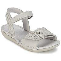Shoes Girl Sandals Kickers EVANA White / Broken