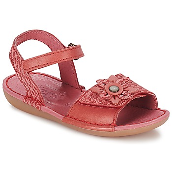 Shoes Girl Sandals Kickers EVANA Red / Coral