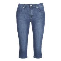 material Women Shorts / Bermudas Yurban JATARA Blue / Medium