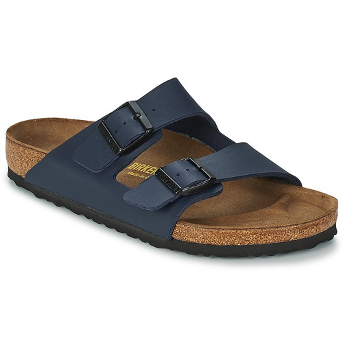 Shoes Men Mules Birkenstock ARIZONA LARGE FIT Blue