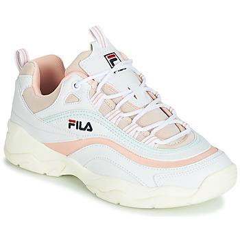 Shoes Women Low top trainers Fila RAY LOW WMN White / Beige