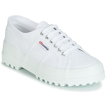 Shoes Women Low top trainers Superga 2555 COTU White