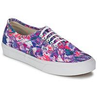 Shoes Women Low top trainers Vans AUTHENTIC SLIM Violet