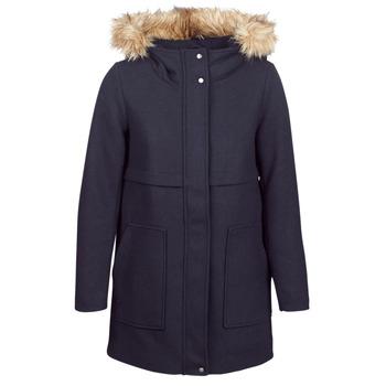 material Women coats Only ONLNOAH Marine