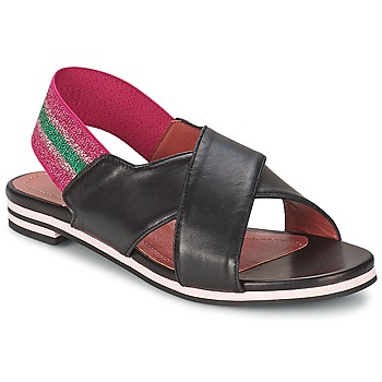 Shoes Women Sandals Sonia Rykiel 688204 Black / Pink