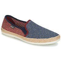 Shoes Men Espadrilles Bamba By Victoria ANDRE ELASTICOS REJILLA BICO Blue / Red