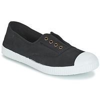 Shoes Low top trainers Victoria INGLESA ELASTICO TINTADA Black