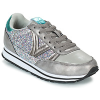 Shoes Women Low top trainers Victoria COMETA GLITTER Silver