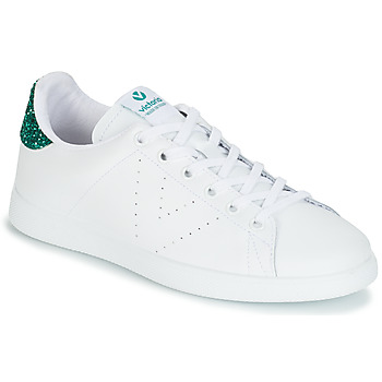 Shoes Women Low top trainers Victoria TENIS PIEL White / Green