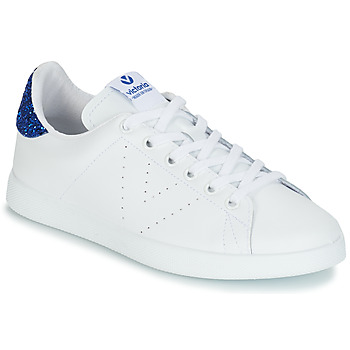 Shoes Women Low top trainers Victoria TENIS PIEL White / Blue