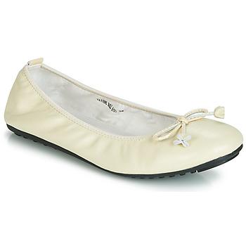Shoes Women Ballerinas Mac Douglas ELIANE Ecru