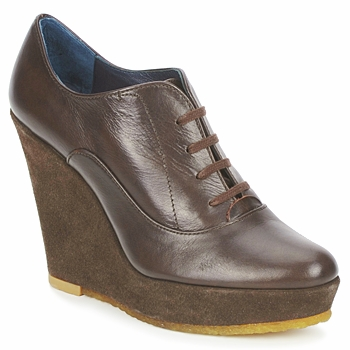 Shoes Women Low boots Castaner FUSTA Brown