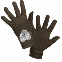 Clothes accessories Women Gloves Moschino 29849 Dark Green