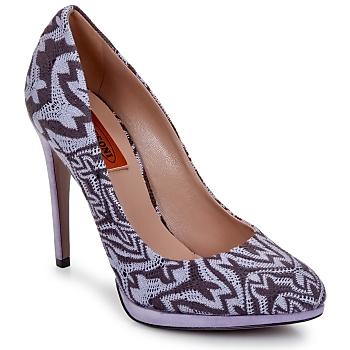 Shoes Women Court shoes Missoni SM113 Beige / Lilac
