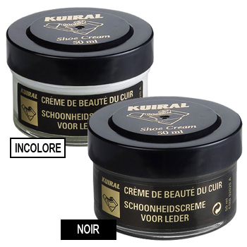Accessorie Shoepolish Kuiral LOT 2 POMMADIERS 50 ML Noir / Incolore