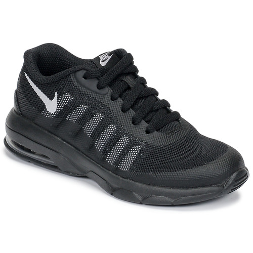 pretty nice 224a5 86f77 Shoes Children Low top trainers Nike AIR MAX INVIGOR PS Black   Grey