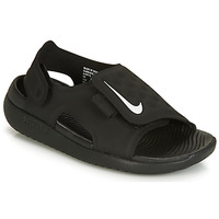 Shoes Children Sandals Nike SUNRAY ADJUST 5 Black