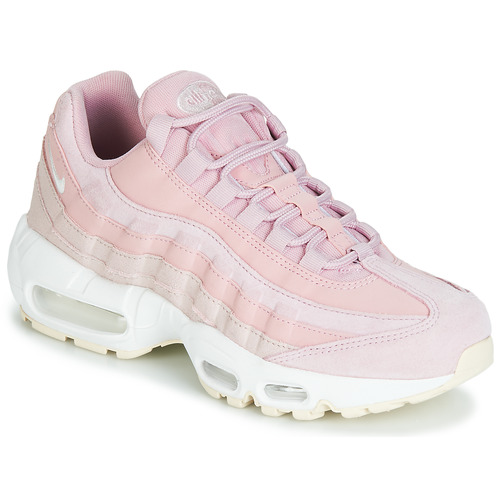 Nike AIR MAX 95 PREMIUM W Pink - Free delivery | Spartoo NET ...